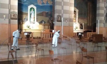 Sanificati le chiese e gli oratori chiusi per Covid