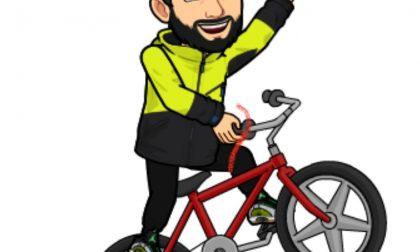 Giussano, disoccupato  si improvvisa fattorino in bici