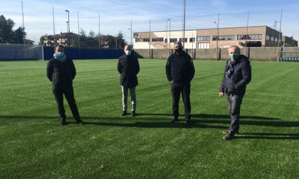 Terminati i lavori al campo sportivo Po2 di Cesano Maderno