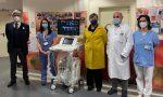 In Pediatria a Vimercate un ecografo di ultima generazione. Lo ha donato Abio