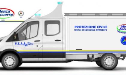 Una raccolta fondi per dotare Monza Soccorso di un nuovo mezzo speciale
