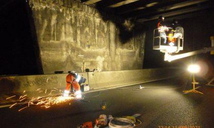 Fino al 20 febbraio cantieri notturni in Milano Meda per ispezioni sui ponti