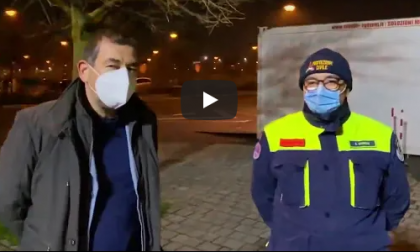 Vimercate, gli aggiornamenti del sindaco dal punto tamponi: in due giorni 600 screening