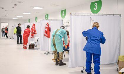 In Fiera a Milano cronometrati i tempi di somministrazione dei vaccini