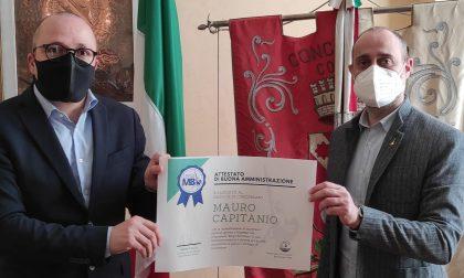 Attestato di buona amministrazione al sindaco di Concorezzo