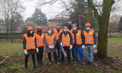 Nuovi volontari del verde a San Giovanni Battista