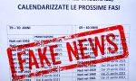 Calendario adesioni per i vaccini: attenzione alla fake news che sta circolando in rete