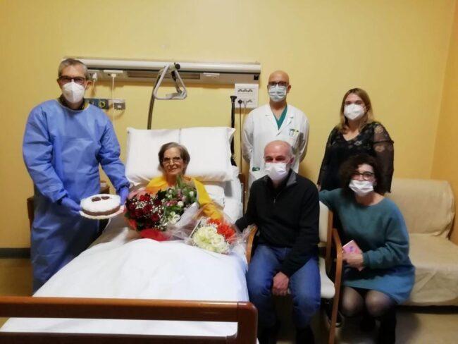 Giussano matrimonio all'hospice
