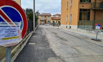 Arcore, oltre due mesi per riqualificare una strada di 50 metri