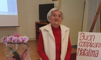 Carate, festa per i 101 anni della «nonna della filanda»