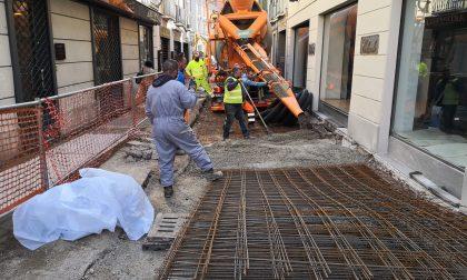 Monza, ripreso il cantiere di riqualificazione dell'area di via Mantegazza