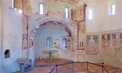 Agliate, gli affreschi del Battistero tornano a splendere