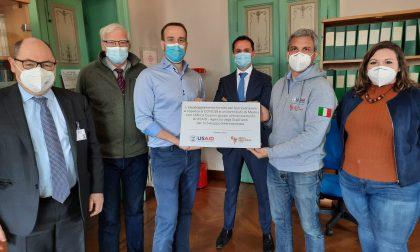 Medici con l'Africa Cuamm consegna un nuovo equipaggiamento di sicurezza all'Ospedale di Carate