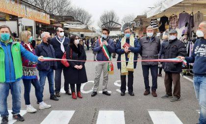 Le foto del nuovo mercato rionale a Santa Valeria