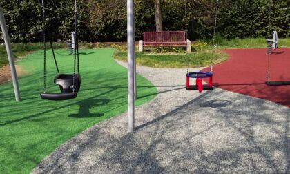 Aperta l'area giochi del parchetto di via Fiume a San Rocco