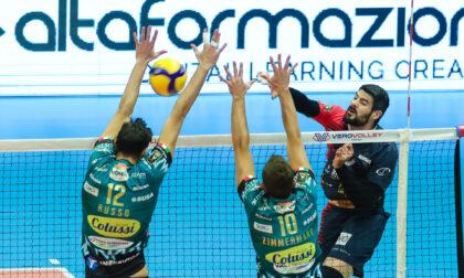 Vero Volley Monza, il cuore non basta: è 2-0 Perugia