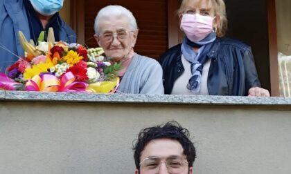 Ornago in festa per i 100 anni di nonna Edvige
