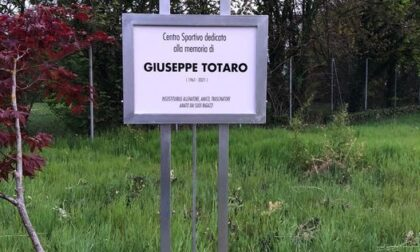 Centro sportivo intitolato al mister ucciso dal Covid