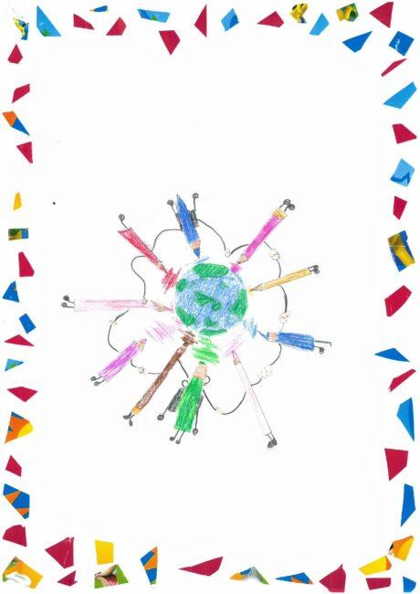 Il disegno di Giulia Spinelli (4 elementare)