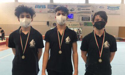 Ancora successi per la Pro Lissone ginnastica: oro e bronzo per le squadre Silver