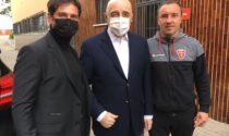Galliani in visita al Monzello per dare supporto alla squadra prima di Ascoli-Monza