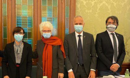 Il senatore Pellegrini al fianco di Liliana Segre nella lotta all'intolleranza e al razzismo
