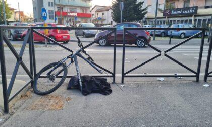 Travolto in bici, paura per un 34enne