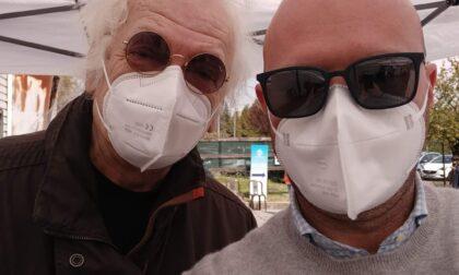 Besana, Maurizio Vandelli si vaccina contro il covid