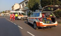Furgoncino fa manovra e urta un ciclista: 80enne in ospedale