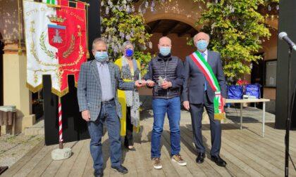 Cornate rende onore ai suoi cittadini benemeriti con l'Airone d'Oro - FOTO