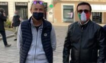 Protesta silenziosa degli ambulanti