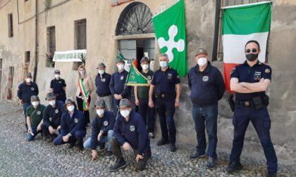 Giornata regionale degli Alpini, inno d'Italia e cerimonia a Meda