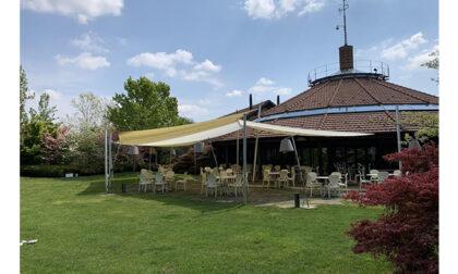 Oasi del Moro, ristorazione di qualità sotto al portico, nel verde