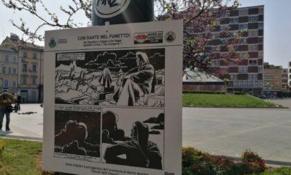 """Monza omaggia Dante: piazza Trento e Trieste diventa """"La selva oscura"""""""