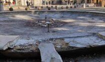 Atto vandalico in piazza Libertà, lo sfogo del sindaco di Cavenago