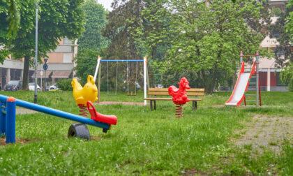 Nuovi giochi per i bambini nei parchi di Seregno
