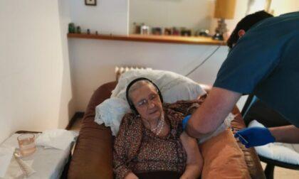 """Dopo mesi di attesa, ora per la """"super nonna"""" di 101 anni di Brugherio è arrivato il vaccino"""