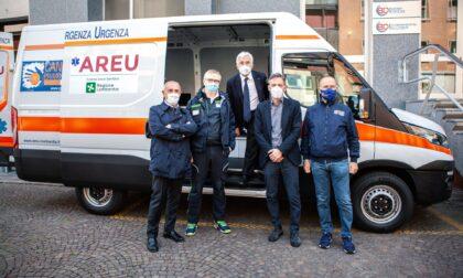 Cancro Primo Aiuto dona un mezzo all'Areu per potenziare il servizio di vaccinazione  in Lombardia