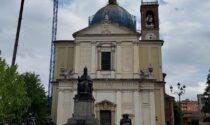 Gru a 52 metri d'altezza, per salvare la cupola della Basilica