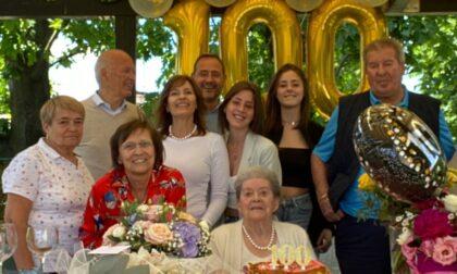 Giussano, festeggia i  100 anni con il  vaccino