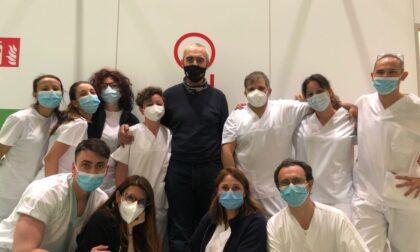 Terminata l'esperienza nell'Ospedale in Fiera per medici e infermieri dell'Asst Monza: hanno gestito 92 pazienti gravi
