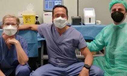 Donato un tromboelastografo alla Chirurgia Generale dell'Ospedale di Vimercate