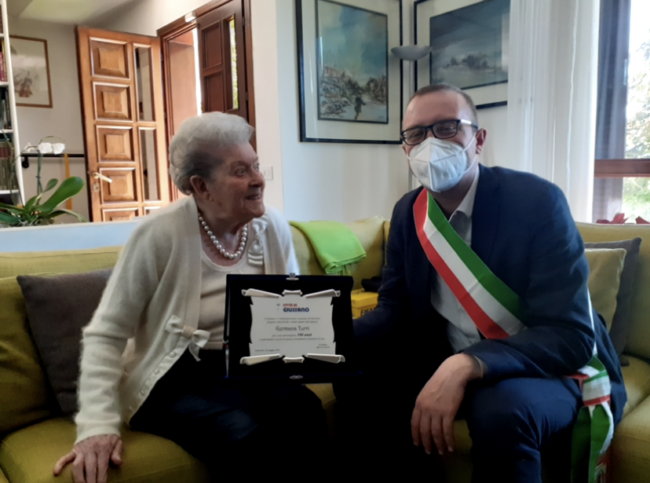 Giussano, Germana Turri 100 anni