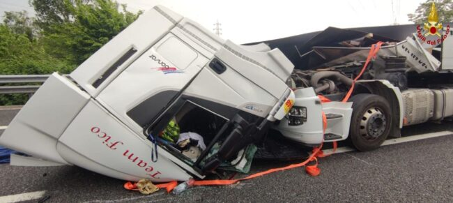 Monza incidente tangenziale