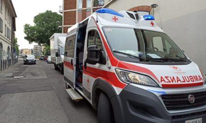 Donna investita da un camion, soccorsa dalla Croce Rossa