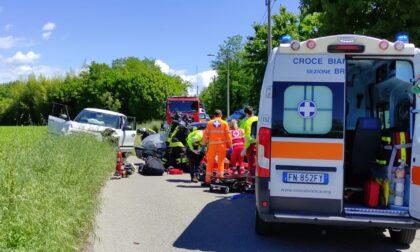 Grave incidente a Concorezzo: quattro persone finiscono in ospedale