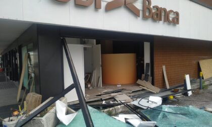 Assalto al bancomat a Nova Milanese, le foto dei danni