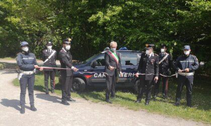 Nuova auto per i Carabinieri della Tenenza