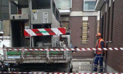 Si allaga la cabina, quartiere senza corrente a Monza