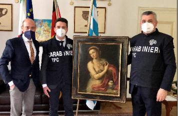 Un altro dipinto recuperato dai Carabinieri per la Tutela del Patrimonio Culturale